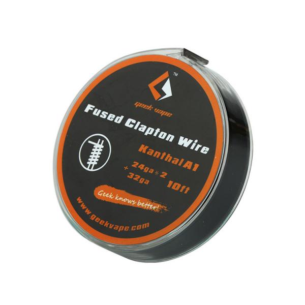 GeekVape 3 Meter KA A1 Fused Clapton Wire 24GA x 2 + 32GA (0.51 mm x 2 + 0.20 mm) Wickeldraht