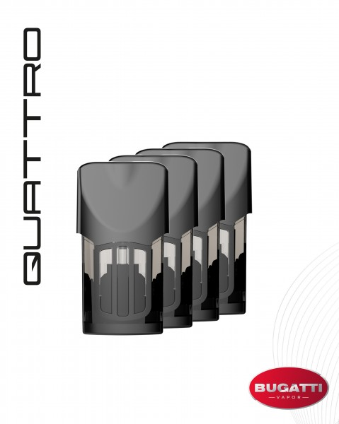 QUATTRO Pod 4-Pack - Refillable